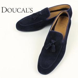 DOUCAL'S デュカルス メンズ スウェード タッセル スリッポン 51608 GRANADA NE CACHEMIRE BLUE (ネイビー)レビューを書いて送料無料|laglagmarket