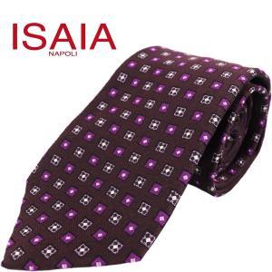 ISAIA イザイア メンズ シルク 小紋柄 ネクタイ BACCO TIE CRV006 004188 CVN25 05 (パープル)レビューを書いて送料無料|laglagmarket