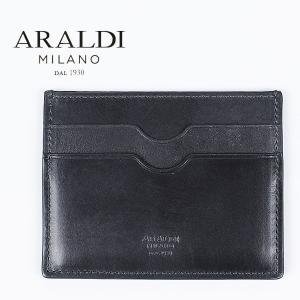国内正規品 即日発送 ARALDI 1930(アラルディ) タンポナート レザー カードケース PX334 TAMPONATO NUVOL(ダークグレー)|laglagmarket