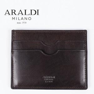 国内正規品 即日発送 ARALDI 1930(アラルディ) タンポナート レザー カードケース PX334 TAMPONATO NUVOL(ウッド)|laglagmarket