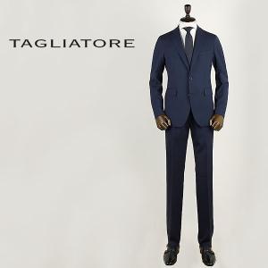 国内正規品 即日発送 TAGLIATORE タリアトーレ メンズ ウール 2B シングル スーツ 2SMJ22B01 03UEZ035 B1172 (ダークネイビー)|laglagmarket