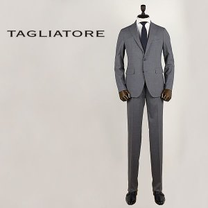 国内正規品 即日発送 TAGLIATORE タリアトーレ メンズ SUPER130'Sウール 2B シングル スーツ 2SMJ22B01 06UEZ213 G3180 (グレー)|laglagmarket
