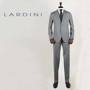 LARDINI ラルディーニ メンズ ウール 3B ピンストライプスーツ JI801AQ/EARP46491/18(ライトグレー) レビューを書いて送料無料|laglagmarket