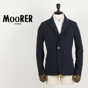 セール 国内正規品 MOORER ムーレー メンズ ストレッチ ナイロンジャケット DEZ EX BLU (ネイビー)special priceAM laglagmarket