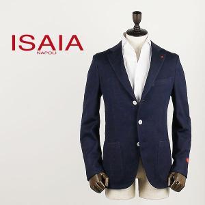 ISAIA イザイア メンズ 段返り 3B コットンジャージー シングルジャケット SAILOR JKT 82560 (ネイビー)special priceBM|laglagmarket
