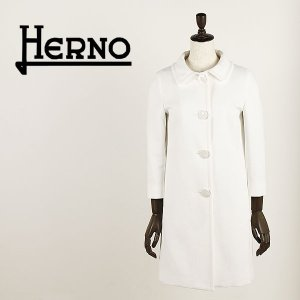 セール 国内正規品 HERNO ヘルノ レディース コットンギャバジン ステンカラーコート CA0067D 12163 1100 (ホワイト)special priceAL|laglagmarket