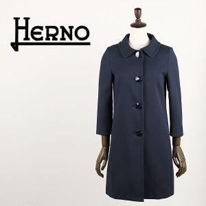 セール 国内正規品 HERNO ヘルノ レディース コットンギャバジン ステンカラーコート CA0067D 12163 9200 (ネイビー)special priceAL|laglagmarket