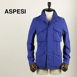 ASPESI アスペジ メンズ ナイロン フィールドジャケット 1617/9973/85 032 (ブルー)special priceAM|laglagmarket