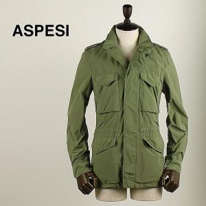 ASPESI アスペジ メンズ ナイロン フィールドジャケット 1617/9973/85 112 (カーキ)レビューを書いて送料無料|laglagmarket