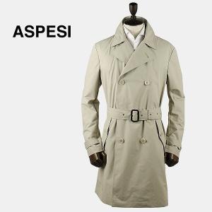 ASPESI アスペジ メンズ ポリエステル トレンチコート 1661/G504/01 043(アイボリー)レビューを書いて送料無料|laglagmarket