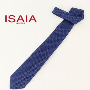 ISAIA イザイア メンズ シルク ジャカード織 小紋柄 ネクタイ BACCO TIE CRV006 CVT65 03 (ブルー) レビューを書いて送料無料|laglagmarket
