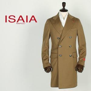 ISAIA イザイア メンズ アクアウール ビーバー 6B 撥水加工 ダブルチェスターコート PORTOFINO COAT 76380 (キャメル)レビューを書いて送料無料|laglagmarket