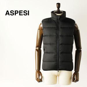 ASPESI アスペジ メンズ ナイロン ダウンベスト 1I58/7954/85 (ブラック) レビューを書いて送料無料|laglagmarket