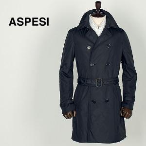 ASPESI アスペジ メンズ サーモア中綿 ナイロン トレンチコート 6I15/7954/85 (ブラック) レビューを書いて送料無料|laglagmarket