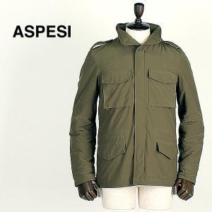 ASPESI アスペジ メンズ Thermore 中綿入り M65 ナイロンジャケット MINIFIELD WOOL VENTO 2I17/9974/01 237(オリーブ)レビューを書いて送料無料|laglagmarket