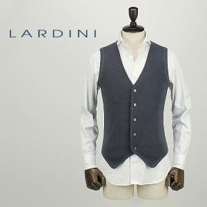LARDINI ラルディーニ メンズ ウール 5B シングル ベスト JJLGSM21/IB47038/930/57 (チャコール)レビューを書いて送料無料|laglagmarket