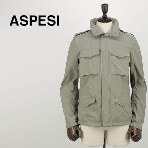ASPESI アスペジ メンズ M65 ナイロンジャケット MINIFIELD SVENTO I501/9974/01/JP 333 (カーキ)special priceAM|laglagmarket