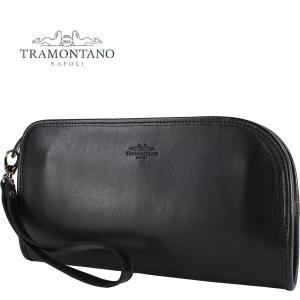 TRAMONTANO トラモンターノ メンズ スムースレザー クラッチバッグ 1450 NAUSICA NERO(ブラック)レビューを書いて送料無料|laglagmarket
