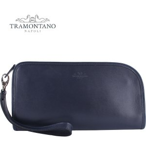 TRAMONTANO トラモンターノ メンズ スムースレザー クラッチバッグ 1450 NAUSICA BLU(ネイビー)レビューを書いて送料無料|laglagmarket