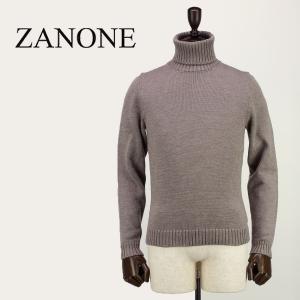 ZANONE ザノーネ メンズ ミドルゲージ ウールニット タートルネックセーター DV 810005 Z0229 Z2873 (グレージュ)レビューを書いて送料無料|laglagmarket