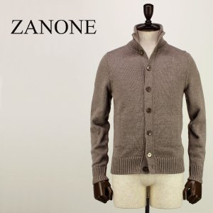 ZANONE ザノーネ メンズ ミドルゲージ ウール ニットブルゾン CHIOTO 810740 Z0229 Z2873 (グレージュ)レビューを書いて送料無料|laglagmarket