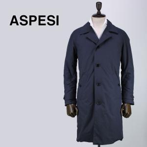ASPESI アスペジ メンズ 中綿入り ステンカラーコート 7I08/G504/01 100 (ネイビー)レビューを書いて送料無料|laglagmarket