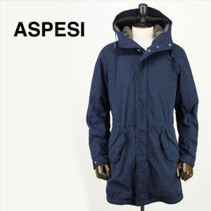 ASPESI アスペジ メンズ Thermore ライナー付 中綿入り モッズコート 2I35/1024/85 098 (ネイビー)レビューを書いて送料無料|laglagmarket