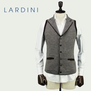 LARDINI ラルディーニ メンズ ウール ニット 6B シングル ラペルジレ JLLGSM24/IE49031/450 (ブラウン)レビューを書いて送料無料|laglagmarket