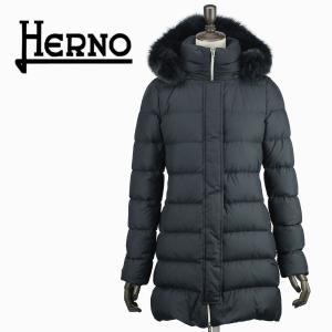 セール 国内正規品 HERNO ヘルノ レディース POLAR-TECH ポーラーテック ファー付き ダウンコート PI0709D 12182/F_FUR/D 9200(ブラック)special priceAL|laglagmarket
