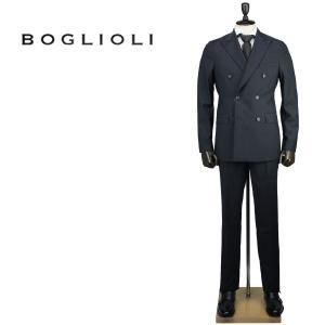 BOGLIOLI ボリオリ メンズ ヴァージンウール ストライプ 6B ダブルスーツ SFORZA スフォルツァ Y42A2A BHC112 09/880 (グレー)レビューを書いて送料無料|laglagmarket