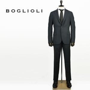 BOGLIOLI ボリオリ メンズ ヴァージンウール ストライプ 段返り 3B シングルスーツ CRESPI クレスピ 72262A BHC107 09/880 (グレー)レビューを書いて送料無料|laglagmarket