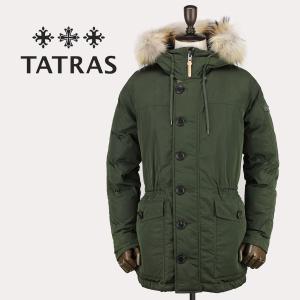 セール 国内正規品 TATRAS タトラス Rライン メンズ ミリタリー セミロングダウンコート IPERICO MTK18A472 (オリーブ)special priceAM|laglagmarket