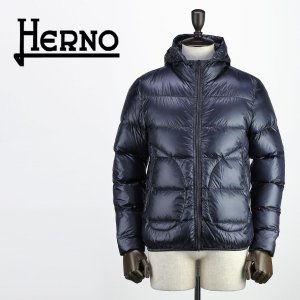 セール 国内正規品 HERNO ヘルノ メンズ 超軽量 パッカブル 撥水 ダウンジャケット CINQUE DENARI PI0423UU 12194/I 9200(ネイビー)special priceAM|laglagmarket