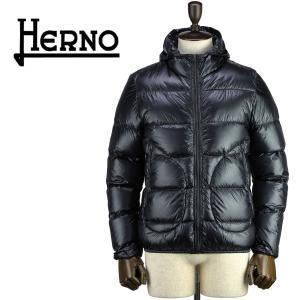 セール 国内正規品 HERNO ヘルノ メンズ 超軽量 パッカブル 撥水 ダウンジャケット CINQUE DENARI PI0423UU 12194/I 9300(ブラック)special priceAM|laglagmarket