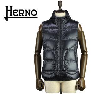 セール 国内正規品 HERNO ヘルノ メンズ 超軽量 パッカブル 撥水 ダウンベスト CINQUE DENARI PI0440U 12194/I 9300(ブラック)special priceAM|laglagmarket