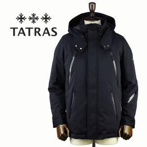 セール 国内正規品 TATRAS タトラス Rライン メンズ ナイロン マウンテンパーカー ダウンジャケット DELICATO MTA18A4521 (ブラック)special priceAM|laglagmarket