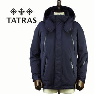セール 国内正規品 TATRAS タトラス Rライン メンズ ナイロン マウンテンパーカー ダウンジャケット DELICATO MTA18A4521 (ネイビー)special priceAM|laglagmarket