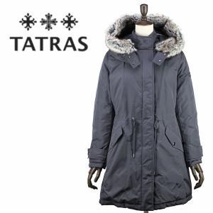 セール 国内正規品 TATRAS タトラス R LINE レディース フードファー付き ナイロン ダウンジャケット LIMONA LTL18A4166(チャコールグレー)special priceAL|laglagmarket
