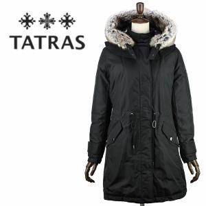 セール 国内正規品 TATRAS タトラス R LINE レディース フードファー付き ナイロン ダウンジャケット LIMONA LTL18A4166(ブラック)special priceAL|laglagmarket