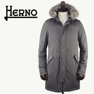 セール 国内正規品 HERNO ヘルノ メンズ サブゼロ ダウンモッズコート SUB-ZERO PI0404U 19124S/FUR/D 8600 (グレー)special priceAM|laglagmarket