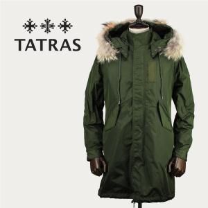 セール 国内正規品 TATRAS タトラス Rライン メンズ インナーダウン付き モッズコート MONTE MTK18A473 (オリーブ)special priceAM|laglagmarket