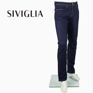 2018年春夏新作 国内正規品 SIVIGLIA シヴィリア/シビリア メンズ 5ポケット ストレッチ ワンウォッシュ デニム DENIM Core 224J/S997/6005/2 (インディゴ)|laglagmarket