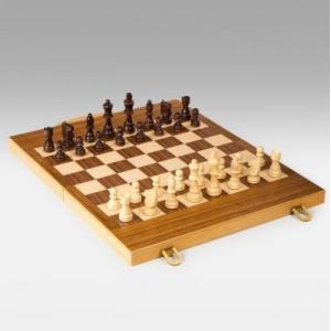 15in ゲームスター チェス & バックギャモン セット【15L X19W X1Dインチ】|lagopus-y
