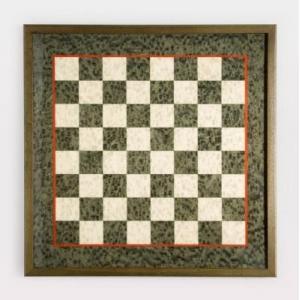 レッド ピンストライプ イタリアン チェス ボード【20インチ】|lagopus-y