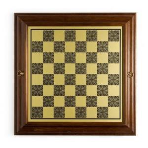 イタリアン Worm ウッド/Brass チェス キャビネット【22インチ】|lagopus-y