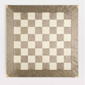 Swirling Stream チェス ボード Brass corners 2インチ【22インチ】|lagopus-y