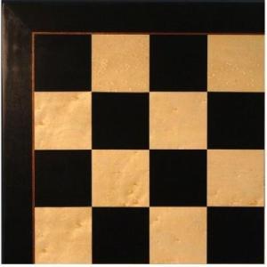 ブラック & Birdseye メープル ベニヤ チェス ボード【22インチ】|lagopus-y
