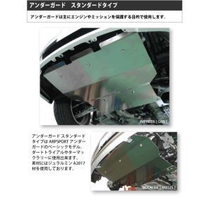 ARP SPORT アンダーガード/スタンダード ニッサン パルサー VZ-R JN15|laile