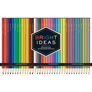 Bright Ideas Deluxe Set: 36 Colored Pencils【並行輸入品】 lakibox28
