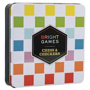 Bright Games Chess & Checkers【並行輸入品】|lakibox28